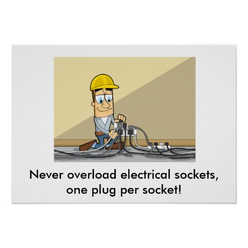 Use of Electricity 001 Poster
