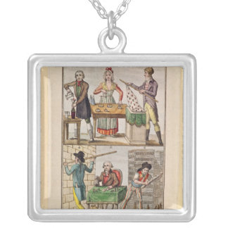 Use of the New Measures Silver Plated Necklace