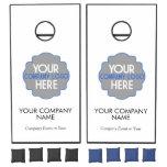 Use Own Business Logo Custom Company Event Party Cornhole Set