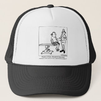 Use Plaster of Paris or Local Plaster? Trucker Hat