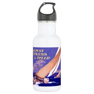 Use Railway Express For Speedy Delivery. 18oz Water Bottle