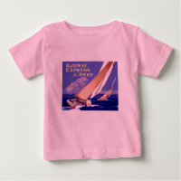 Use Railway Express For Speedy Delivery Baby T-Shirt