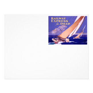 Use Railway Express For Speedy Delivery. Letterhead