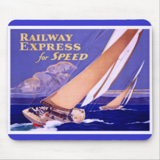 Use Railway Express For Speedy Delivery. Mouse Pad