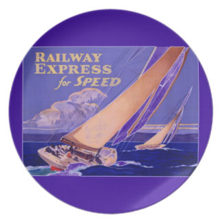 Use Railway Express For Speedy Delivery Party Plates