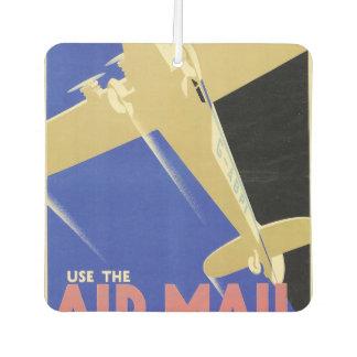 Use the Air Mail, the Fastest Mail Car Air Freshener