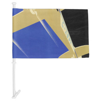 Use the Air Mail, the Fastest Mail Car Flag