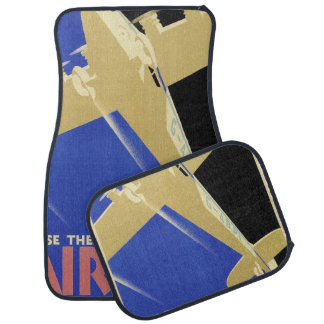 Use the Air Mail, the Fastest Mail Car Mat