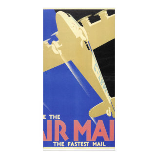 Use the Air Mail, the Fastest Mail Card
