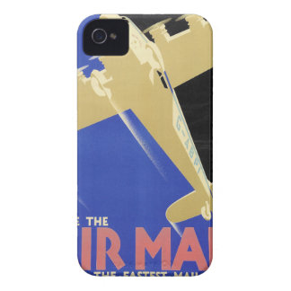 Use the Air Mail, the Fastest Mail iPhone 4 Case-Mate Cases