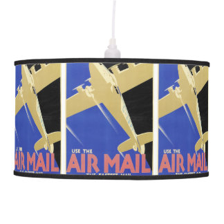 Use the Air Mail, the Fastest Mail Ceiling Lamp