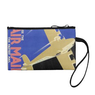 Use the Air Mail, the Fastest Mail Change Purse