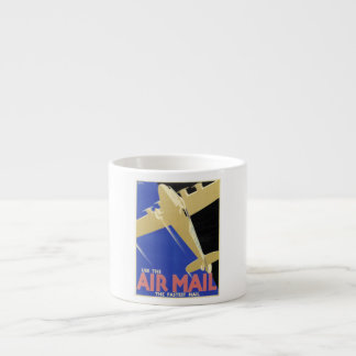 Use the Air Mail, the Fastest Mail Espresso Cup
