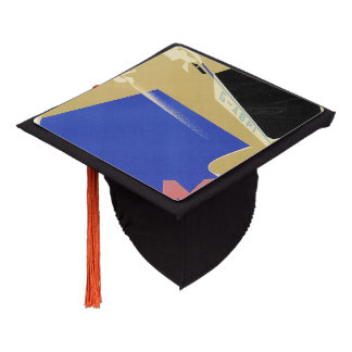 Use the Air Mail, the Fastest Mail Graduation Cap Topper