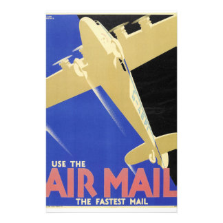Use the Air Mail, the Fastest Mail Stationery