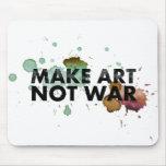 Use you mouspad to make art, not war! mousepads