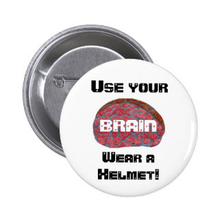 Use your BRAIN Pinback Buttons