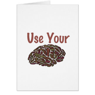 Use Your Brain Card