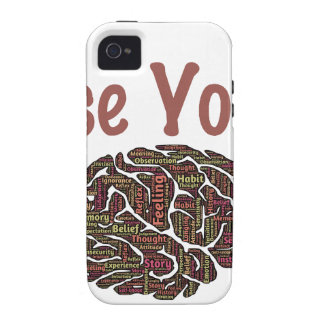 Use Your Brain Vibe iPhone 4 Cover