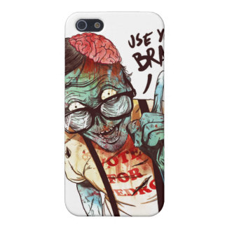 Use your brain iphone cover iPhone 5 case
