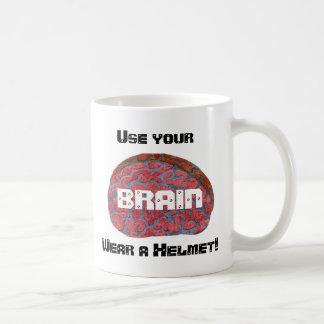 Use your BRAIN Lefty mug