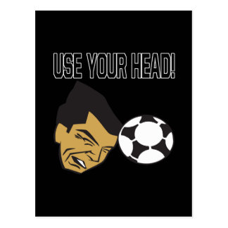 Use Your Head Postcard