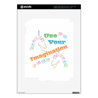 Use Your Imagination Skins For iPad 3