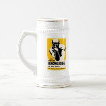 Use Your Library Beer Stein