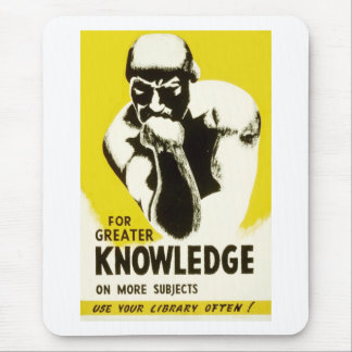Use Your Library Mouse Pad