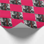 Use Your Own Photo On Red Wrapping Paper