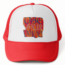 Use Your Voice Hat