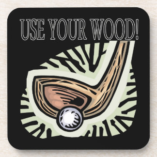 Use Your Wood Beverage Coasters