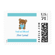 Used And Abused Now Loved Stamp