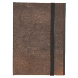Used and Abused Vintage Brown Book Cover iPad Covers