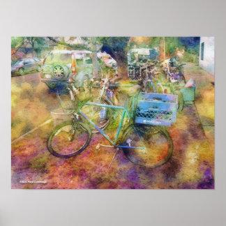 Used Bikes Print