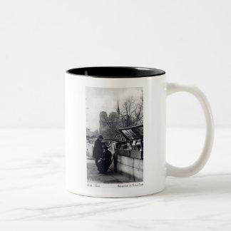 Used Book Sellers, Notre Dame Paris Two-Tone Coffee Mug