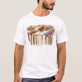 Used books at a rummage sale T-Shirt