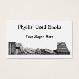 USED BOOKS: PENCIL ART: BUSINESS CARD