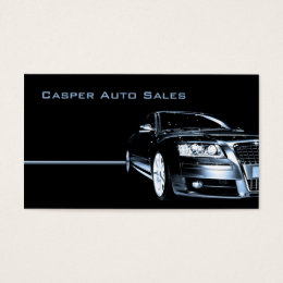 Car Dealer Business Cards Templates Zazzle - Automotive business card templates