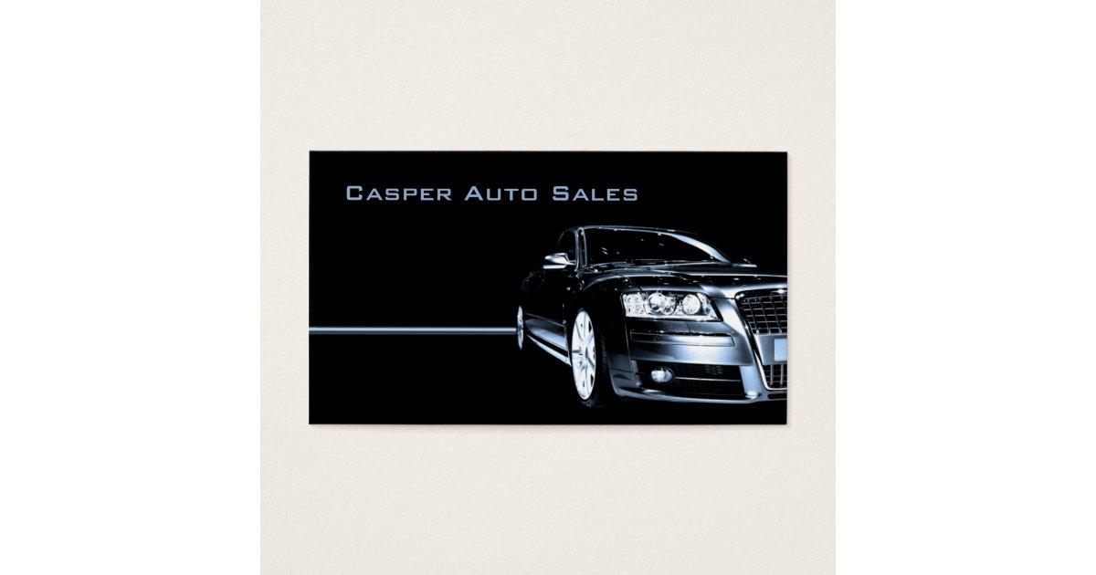 Used Car Dealer Business Card | Zazzle.com