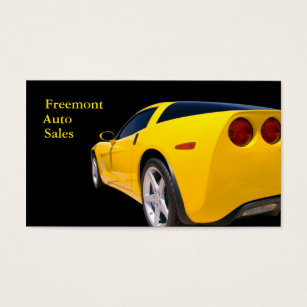 Used cars business cards templates zazzle used car dealer business card reheart Choice Image