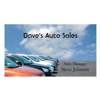 Used Car Dealer Double-Sided Standard Business Cards (Pack Of 100)