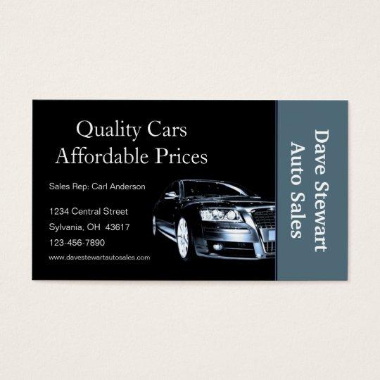 Used car dealer business card zazzle used car dealer business card colourmoves Gallery