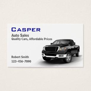 Car dealer business cards templates zazzle used car dealer business card colourmoves Gallery