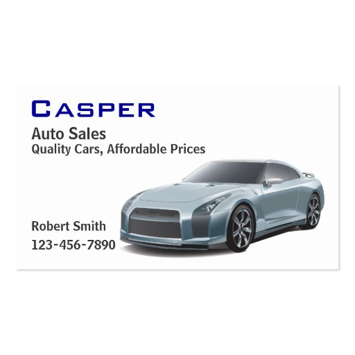 Similiar example of car dealer business cards keywords used car dealer double sided standard business cards pack reheart Image collections