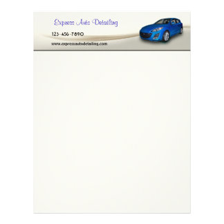 Used Car Dealer Letterhead