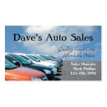 Used Car Salesman Business Card