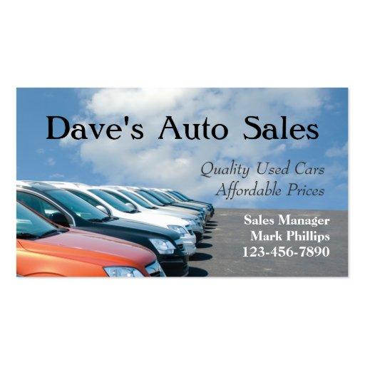 Used Car Dealer Templates