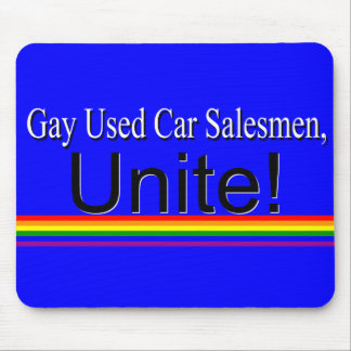 Used Car Salesmen Mouse Pad
