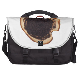 Used coffee grounds laptop computer bag